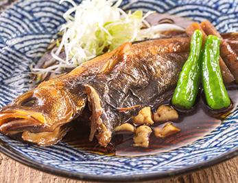 日替わり鮮魚の煮付け